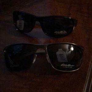 2 pair Eddie Bauer sunglasses